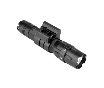 "NC Star 500 lumen Tactical Flashlight with 1"" Picatinny Mount"