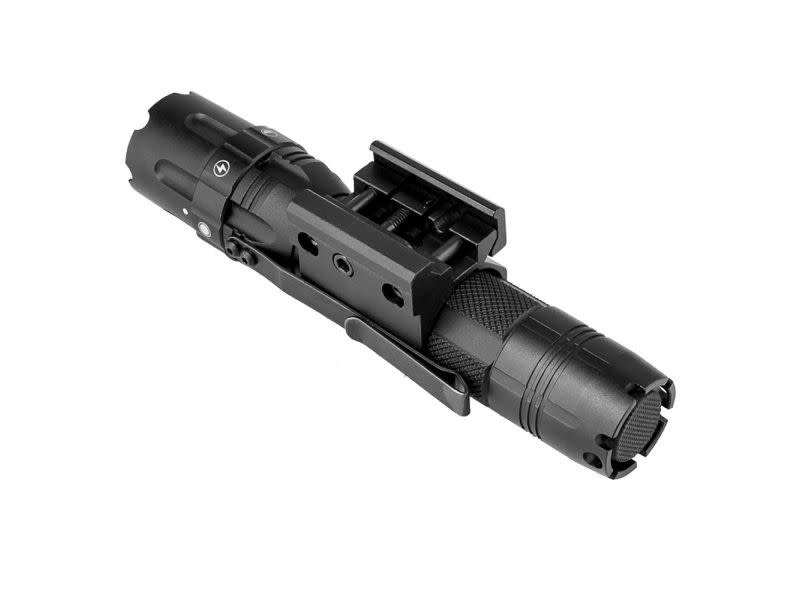 "NcStar NcStar 500 lumen Tactical Flashlight with 1"" Picatinny Mount"
