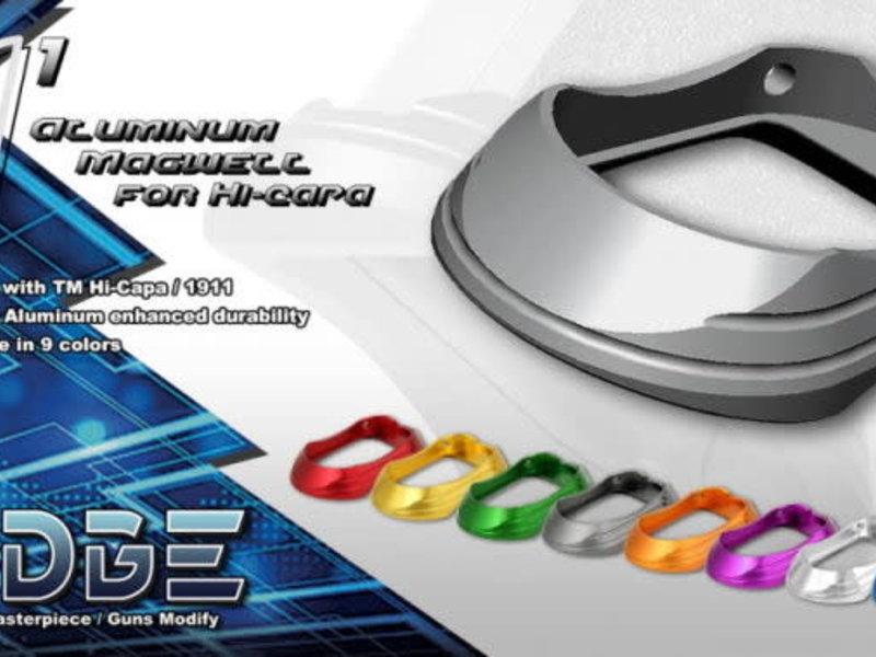 "Airsoft Masterpiece Airsoft Masterpiece EDGE ""M1"" Aluminum Magwell for Hi CAPA"