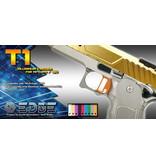"""Airsoft Masterpiece Airsoft Masterpiece EDGE Aluminum """"T1"""" Trigger for Hi-CAPA/1911"""