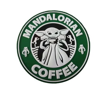 Tactical Outfitters Mandalorian Coffee PVC Morale Patch