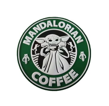 Tactical Outfitters Tactical Outfitters Mandalorian Coffee PVC Morale Patch