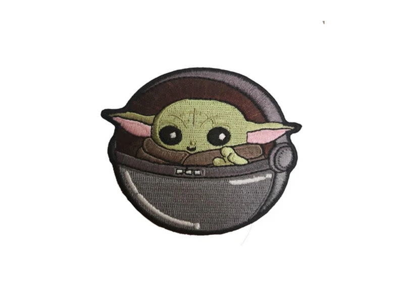 Baby Yoda Patch The Child Patch Mandalorian Patch