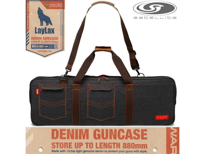 "Laylax Laylax Satellite 36"" Demin Gunbag"