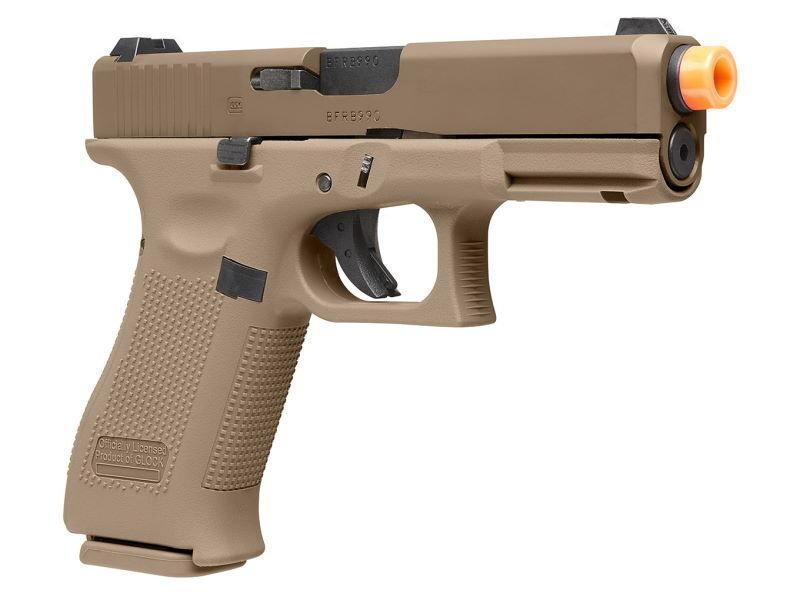 Elite Force Umarex Elite Force GLOCK G19X Green Gas Full Blowback Pistol Tan