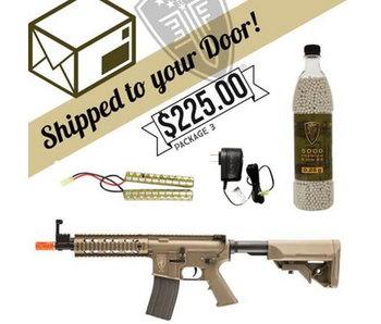 DROP SHIP SPECIAL - EF M4 CQB AEG FDE Package