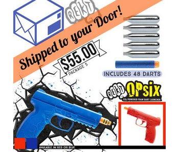 DROP SHIP SPECIAL - REKT OPSIX CO2 Powered Foam Dart Pistol