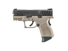 ICS ICS XPD Gas Blowback Pistol, Black slide/tan frame