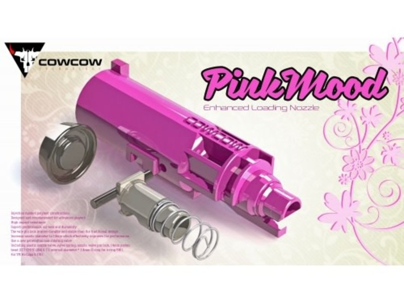CowCow CowCow PinkMood Enhanced Loading Nozzle Set for TM Hi Capa / 1911