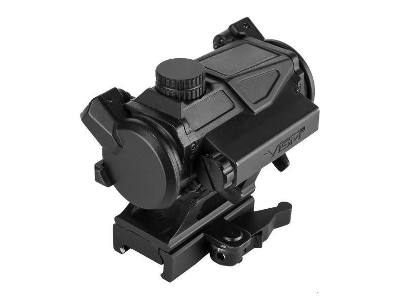 NcStar NcStar VISM SPD Solar Combat Red Dot Reflex Optic, Black