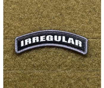 Tactical Outfitters Irregular Tab Morale Patch