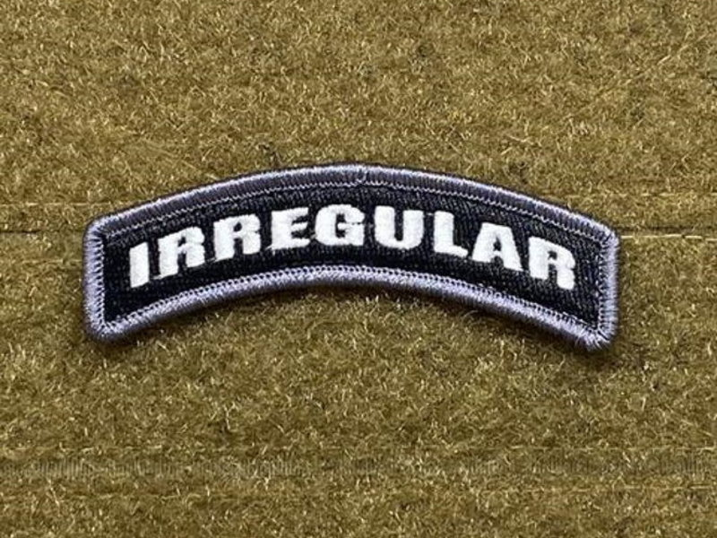 Tactical Outfitters Tactical Outfitters Irregular Tab Morale Patch