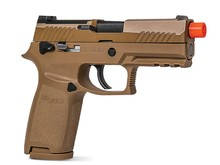 Proforce SIG Sauer Proforce M18 gas blowback pistol, flat dark earth