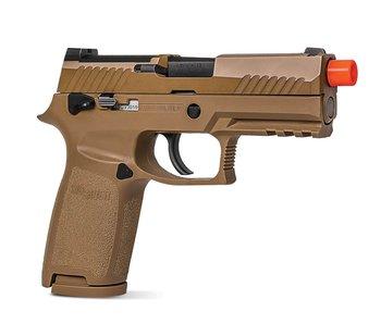 SIG Air Proforce M18 gas blowback pistol, flat dark earth