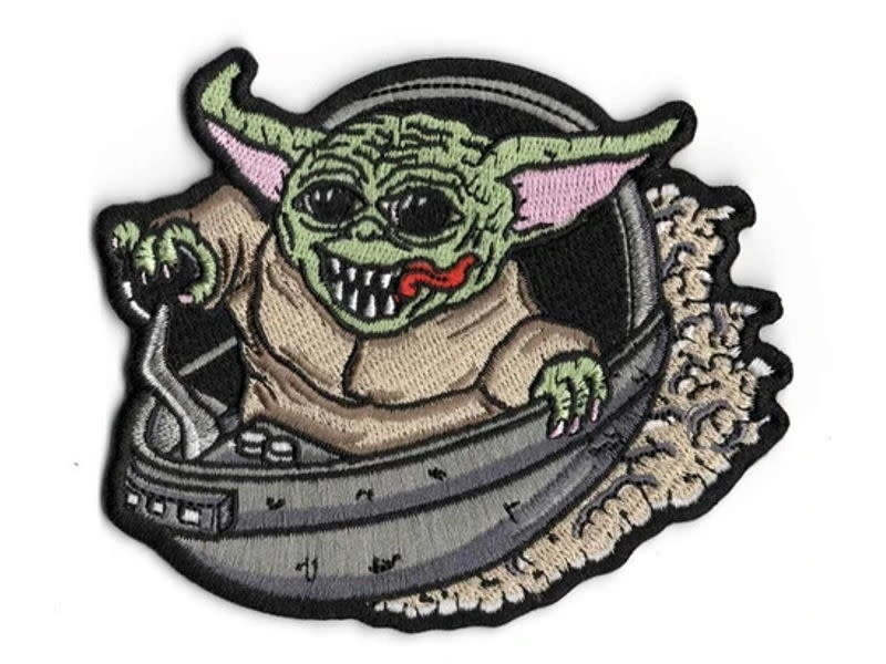 Tactical Outfitters Tactical Outfitters Hot Rod Baby Yoda Limited Morale Patch