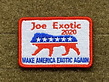 Tactical Outfitters Tactical Outfitters Joe Exotic 2020 For President Morale Patch
