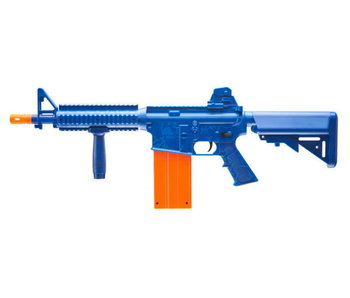 Umarex REKT OPFOUR CO2 Powered Blue Foam Dart Rifle with 12 round Magazine