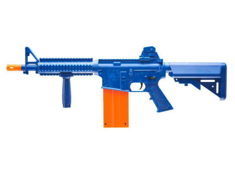 REKT Umarex REKT OPFOUR CO2 Powered Blue Foam Dart Rifle with 12 round Magazine