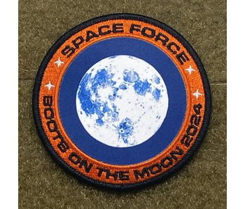 Tactical Outfitters Space Force Moon Mission 2024 Uniform Morale Patch
