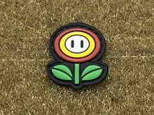 Tactical Outfitters Tactical Outfitters Fire Flower PVC Cat Eye Morale Patch