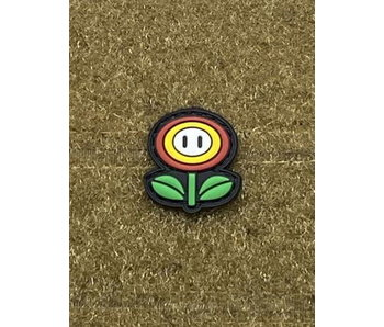 Tactical Outfitters Fire Flower PVC Cat Eye Morale Patch