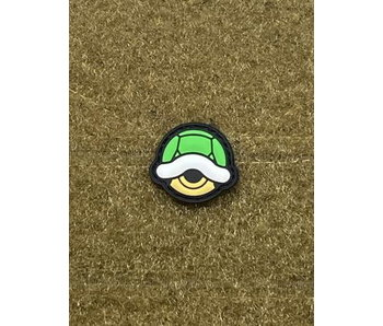 Tactical Outfitters Green Shell PVC Cat Eye Morale Patch