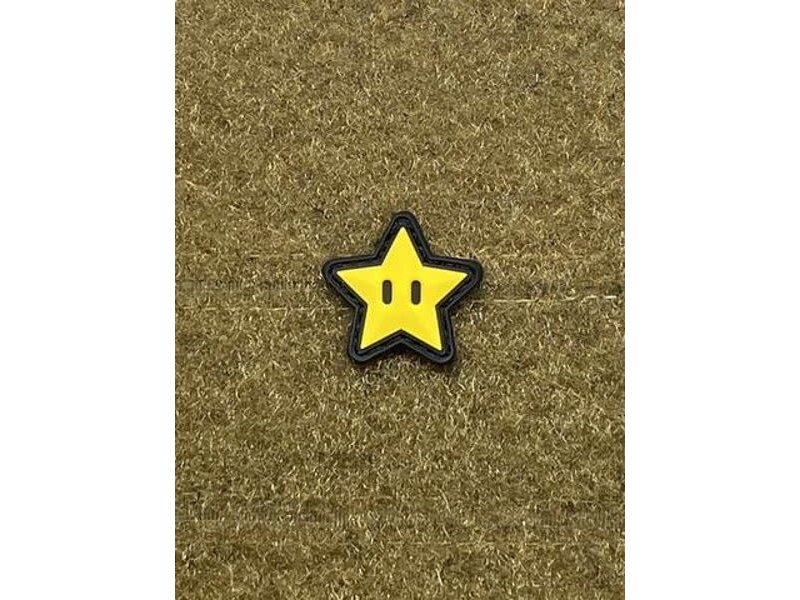 Tactical Outfitters Tactical Outfitters Invincibility Star PVC Cat Eye Morale Patch