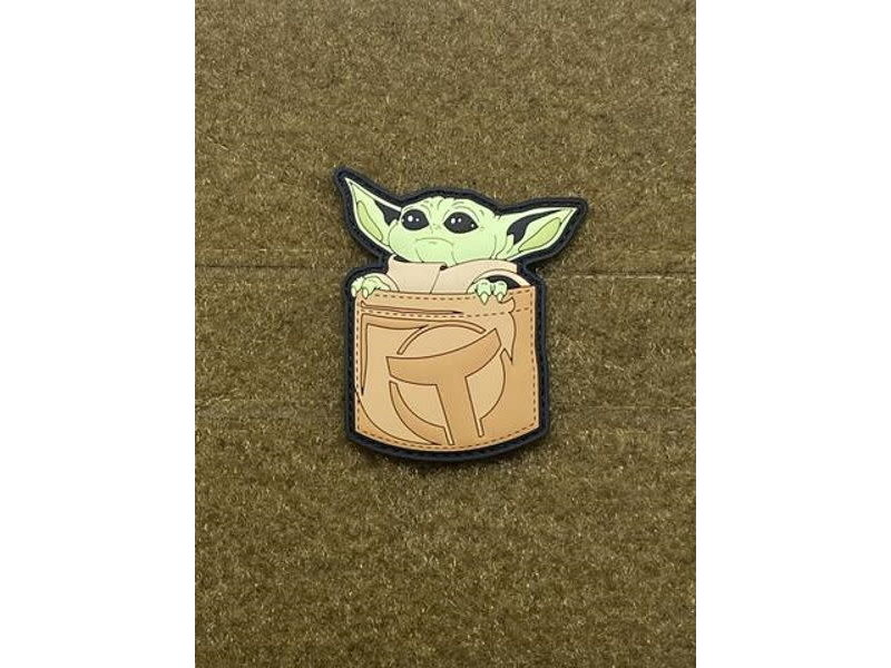 Tactical Outfitters Tactical Outfitters Pocket Baby Yoda PVC Morale Patch Tan