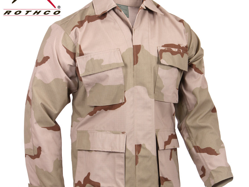 Rothco Rothco Ripstop BDU Shirt, 3 Color Desert