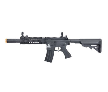 "Lancer Tactical GEN2 M4 SD 7"" Hybrid ETU High FPS Version Nylon Polymer Rifle Black"