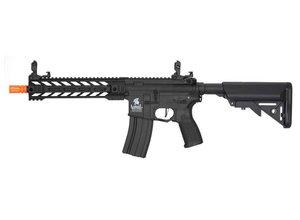 """Lancer Tactical Lancer Tactical GEN2 M4 Enforcer Hybrid 10"""" Battle Hawk PDW High FPS Nylon Polymer Rifle Black"""