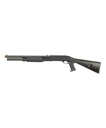 Prima USA Double Eagle M56AL Tri Burst Long Barrel Full Stock Spring Shotgun