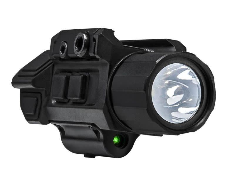NcStar NcStar Gen3 Pistol Flashlight with Strobe & Green Laser
