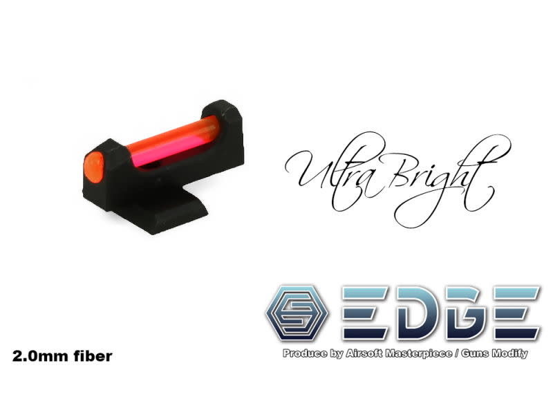 "Airsoft Masterpiece Airsoft Masterpiece EDGE Custom ""BULLSEYE"" Advance Steel Front Sight for Hi-CAPA"