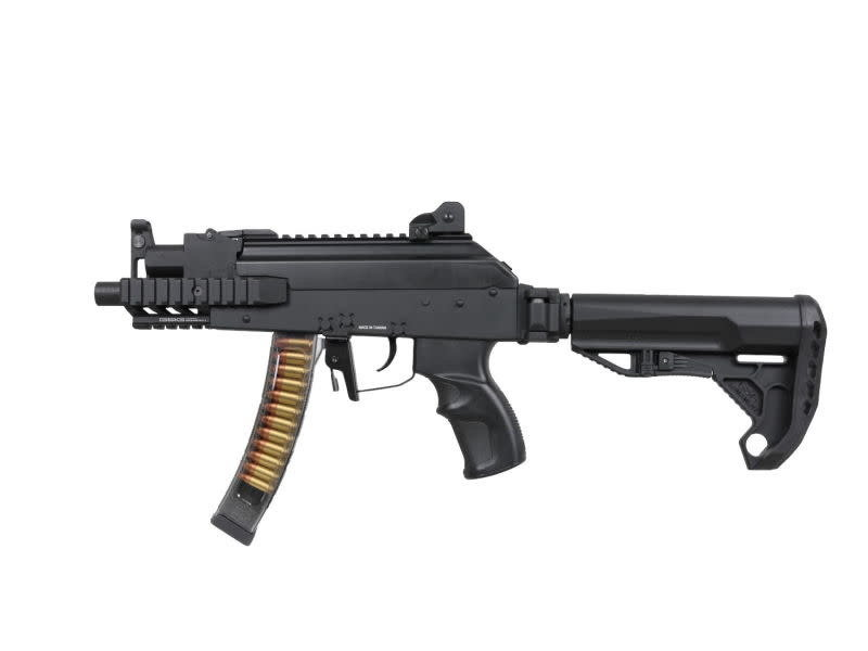 G&G G&G PRK9 RTS ETU Mosfet Compact Electric Rifle Black