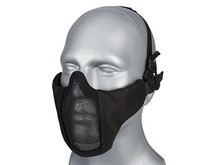 WoSport WoSport Steel Mesh Nylon Padded Lower Face Mask