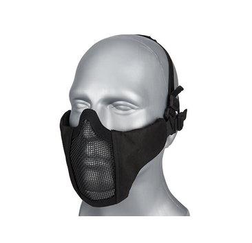 WoSport WoSport Steel Mesh Nylon Padded Lower Face Mask
