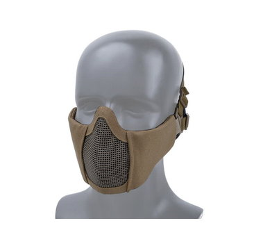 WoSport WoSport Steel Mesh Nylon Padded Lower Face Mask Small