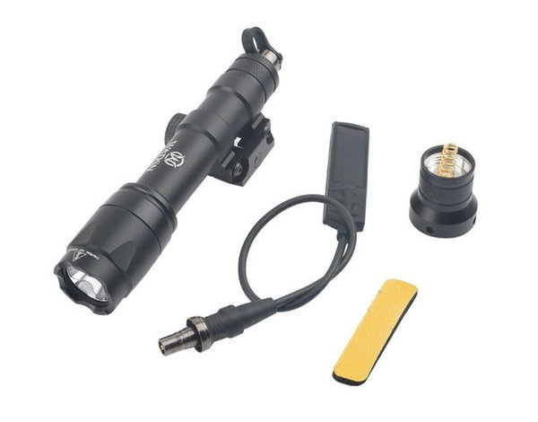 Airsoft Extreme M600 6V LED Scout Light with Remote Switch