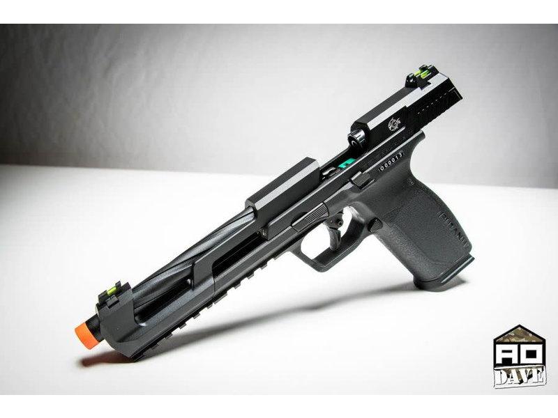 G&G G&G Piranha SL Green Gas Blowback Pistol