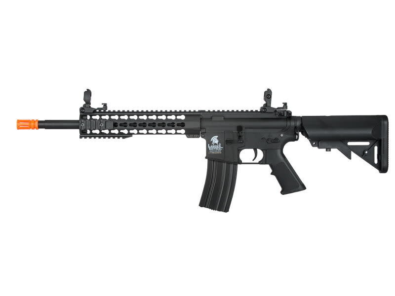 "Lancer Tactical Lancer Tactical GEN2 M4 10"" Low Velocity Keymod Nylon Polymer Rifle Black"