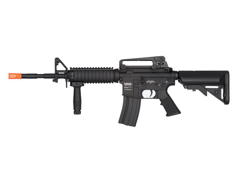 Lancer Tactical Lancer Tactical GEN2 M4 Low Velocity RIS Metal Body Rifle Black (PRE-SALE)