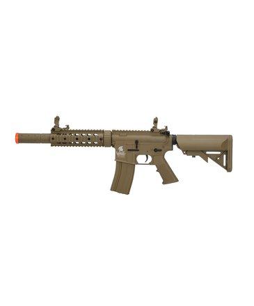 "Lancer Tactical Lancer Tactical GEN2 M4 SD 7"" RIS Low Power Version Nylon Polymer Rifle Tan"