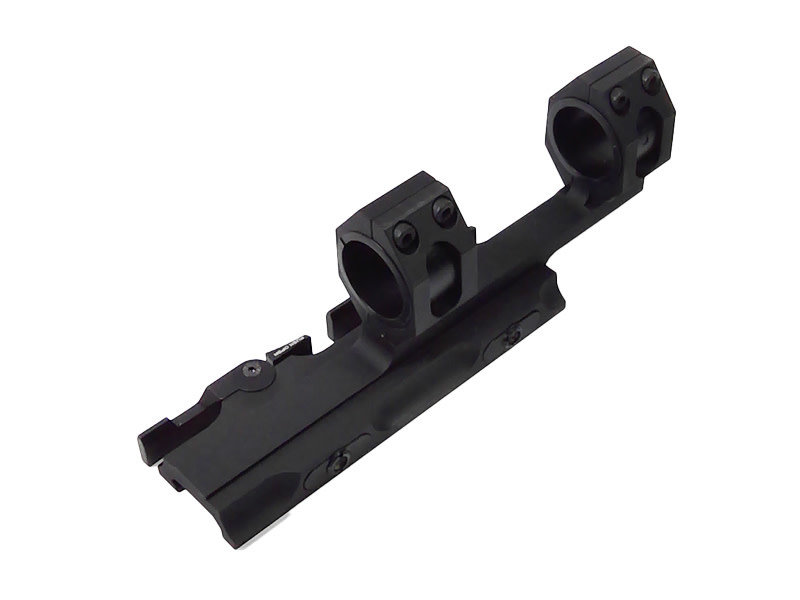 "Airsoft Extreme Tactical 1"" / 30mm QD Double Ring Forward Scope Mount for 20mm Rail"