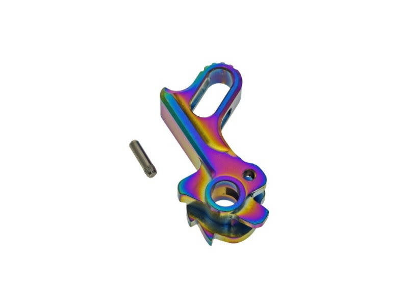 CowCow CowCow Match Grade Stainless Hammer for HI CAPA, Rainbow