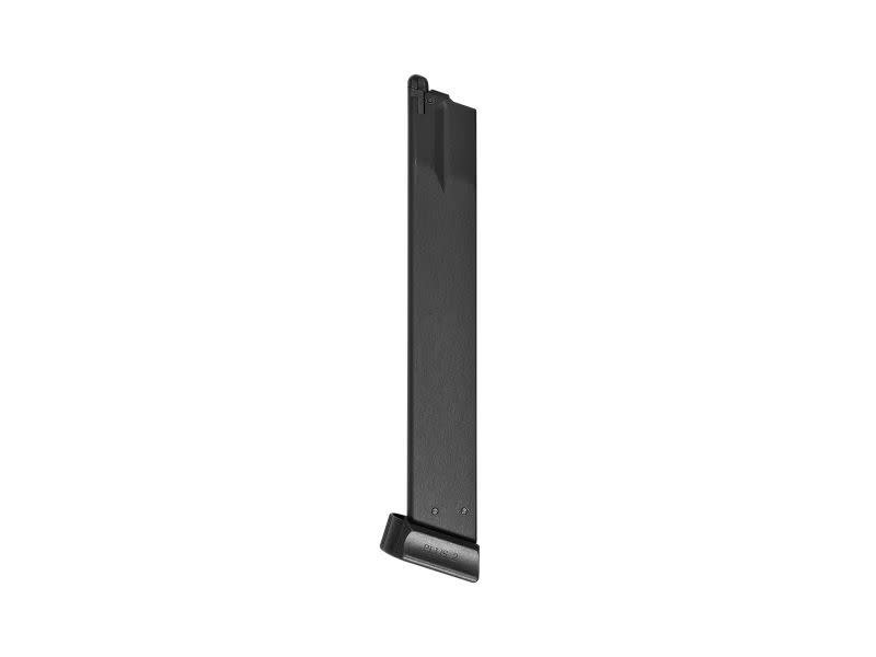 ASG ASG B&T USW A1 50rd Extended Green Gas Magazine for 50 round green gas magazine compatible with the B&T USW, CZ 75, CZ SP-01 Shadow, CZ ACCU Shadow, and CZ Shadow 2