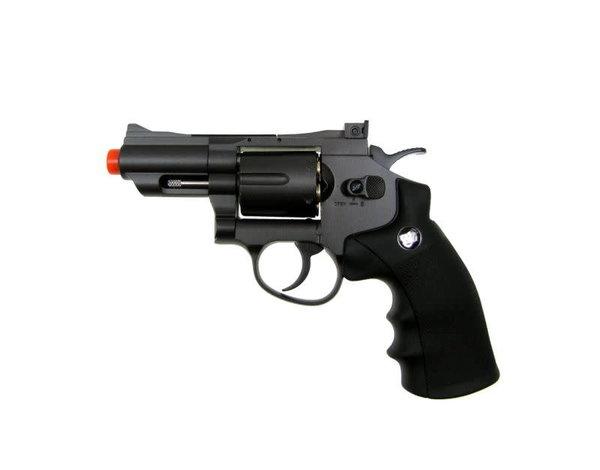 "Win Gun Win Gun Full Metal CO2 6 Shot Revolver 2.5"""