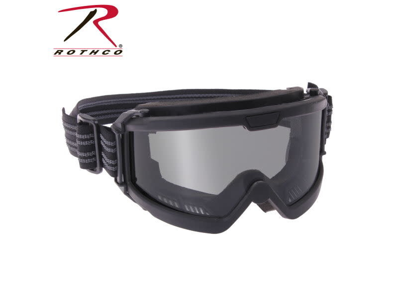 Rothco Rothco Over the Glasses Tactical Goggles, ANSI Rated, Clear Lens