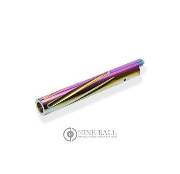 Nine Ball Nine Ball TM Hi Capa 5.1 Fluted Outer Barrel Twist Type, Heat Gradation