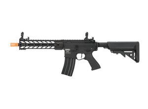 """Lancer Tactical Lancer Tactical GEN2 M4 Enforcer Proline 10"""" Battle Hawk PDW High FPS Metal Rifle Black"""
